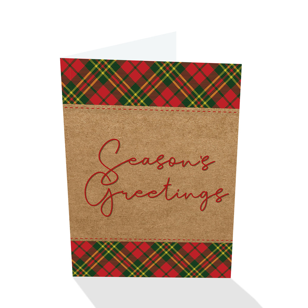 Holiday Petites - Season's Greetings Plaid