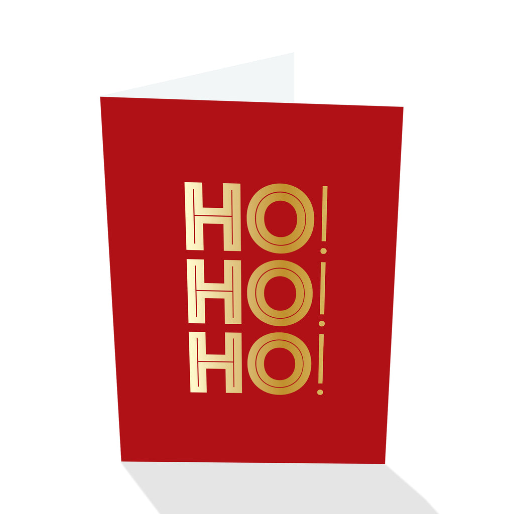 Holiday Petites - Ho! Ho! Ho! (Foiled)