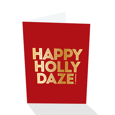 Holiday Petites - Happy Holly Daze! (Foiled)