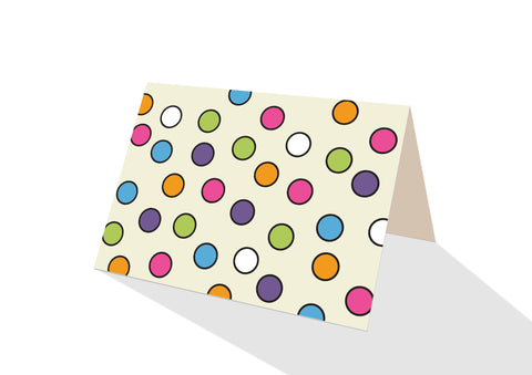 Pops! Brights Dots Notecards