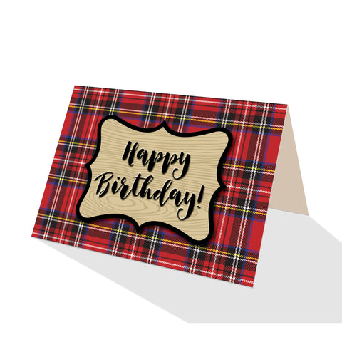 Royal Stewart Plaid Greeting Cards - 5 Options