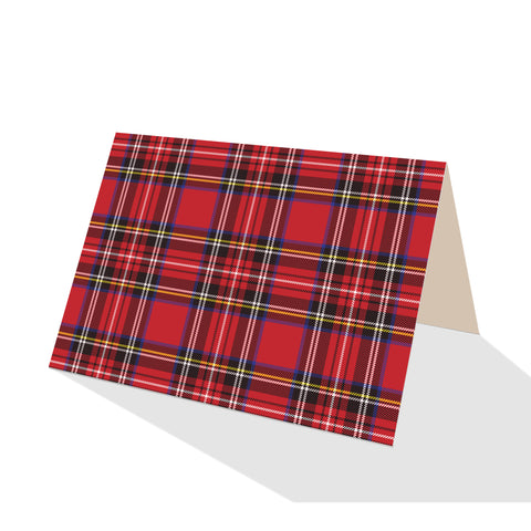 Royal Stewart Plaid Notecards (Set of 8)