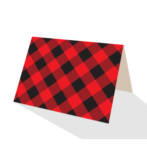 Buffalo Plaid Notecards (Set of 8)