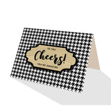 Houndstooth Greeting Cards - 5 Options