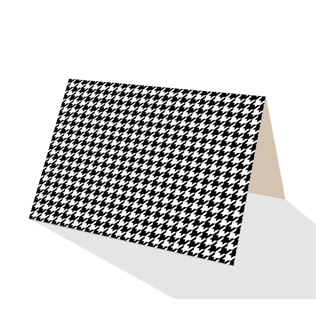 Houndstooth Notecards (Set of 8)