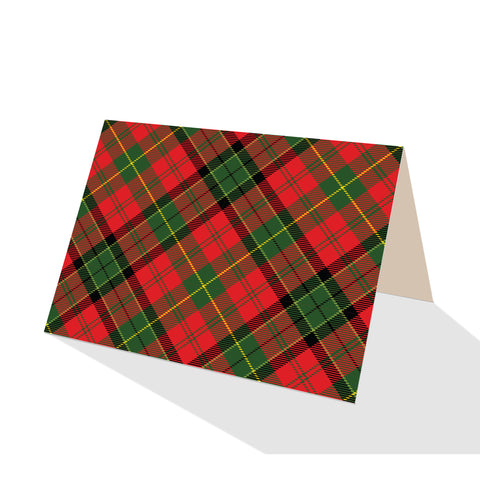 Merry Tartan Plaid Notecards (Set of 8)