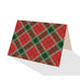 Imperial Red Plaid Notecards (Set of 8)