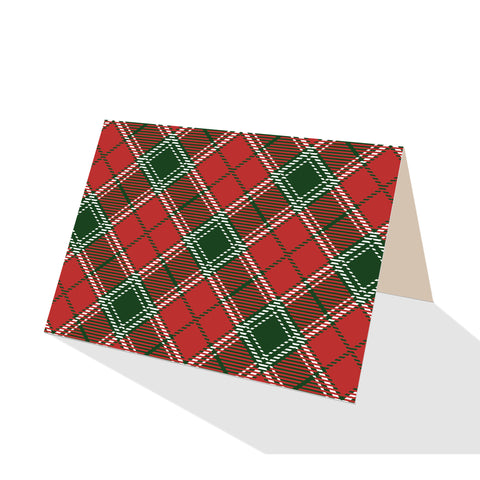 Imperial Red Plaid Boxed Notes (Set of 8)