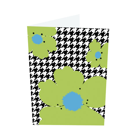 Poppy Brights! Blue/Green Notecards