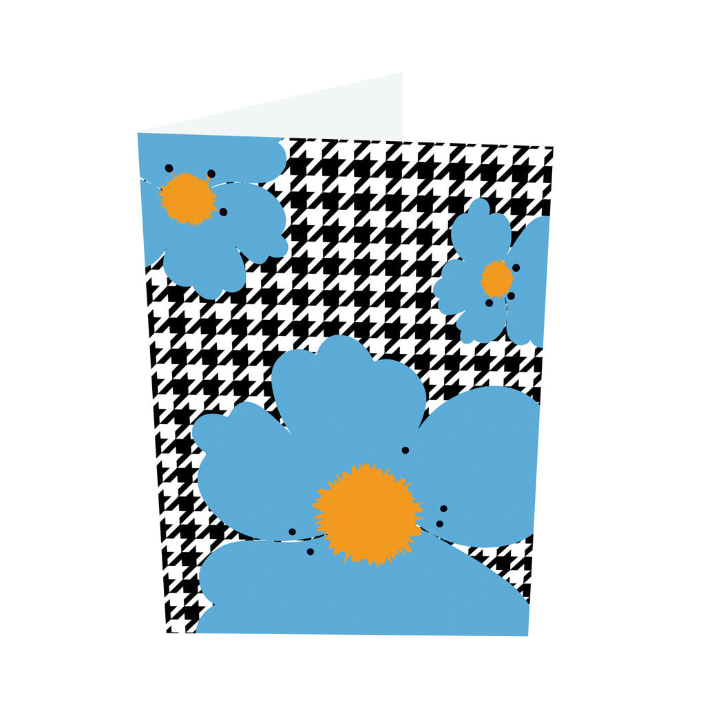 Poppy Brights! Orange/Blue Notecards