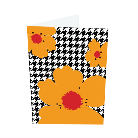 Poppy Brights! Red/Orange Notecards