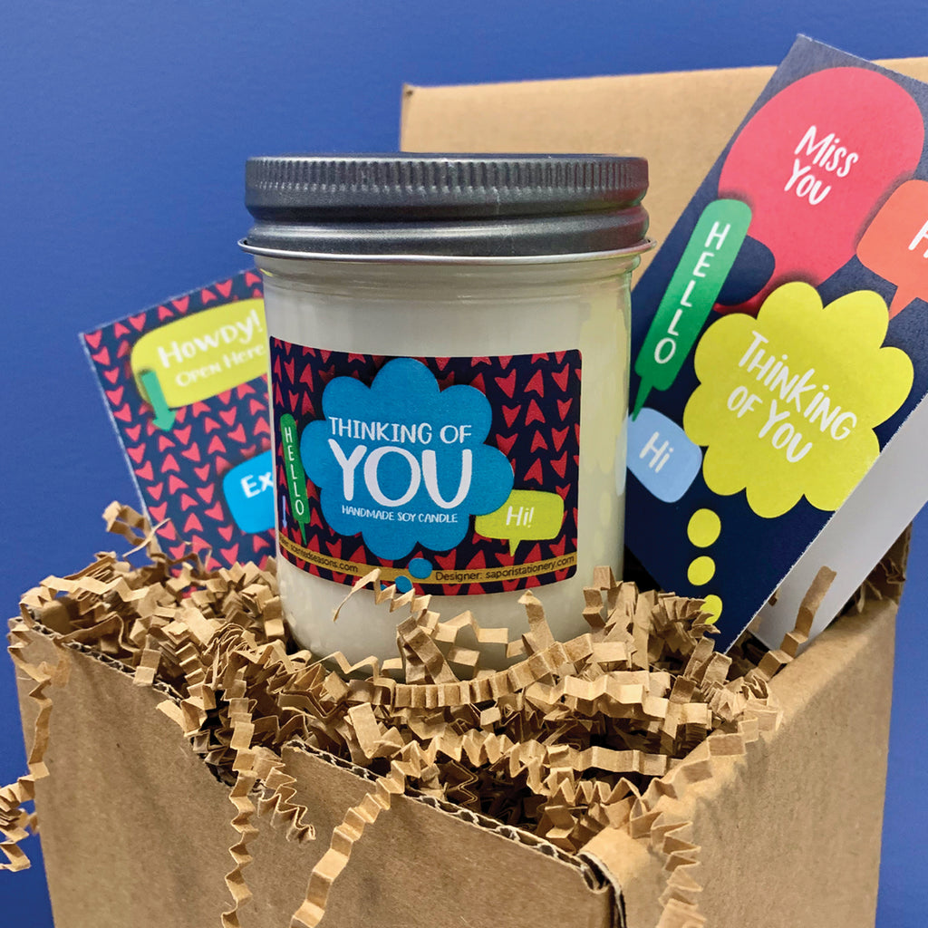 Thinking of You Candle Gift Package