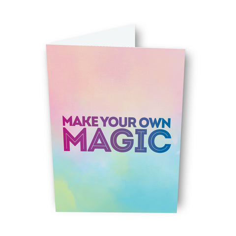 Make Your Own Magic Card