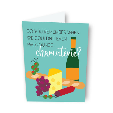 Charcuterie Friendship Card