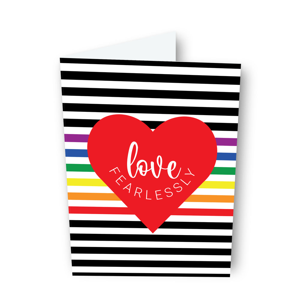 Love Fearlessly - Pride Edition, LGBTQ+ Card