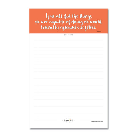 We Are Capable... Edison Notepads (Set of 3)