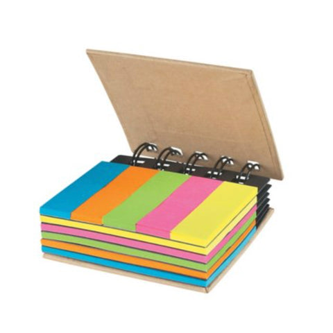 Sticky Notes in Spiral Book