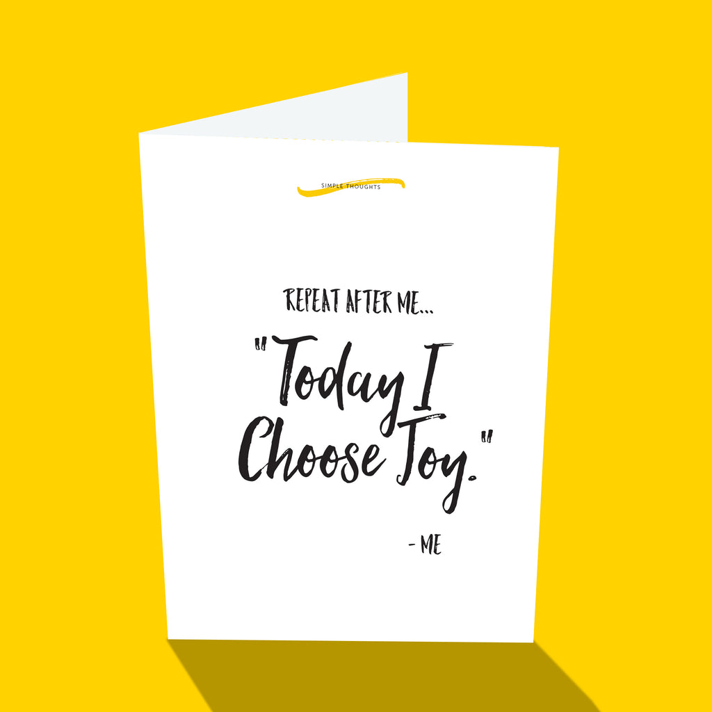 Simple Everyday - Choose Joy
