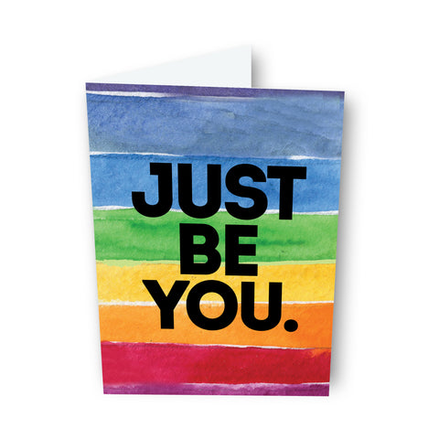 Just Be You Card