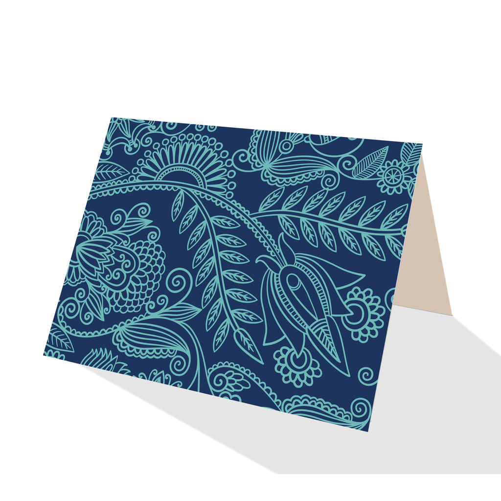 Beach Time! Board Shorts Notecards