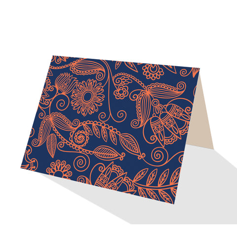 Beach Time! Bandana Notecards