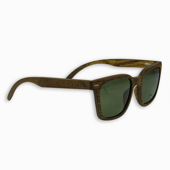 Ella Bing Haberdashery - Polarized Wood Sunglasses