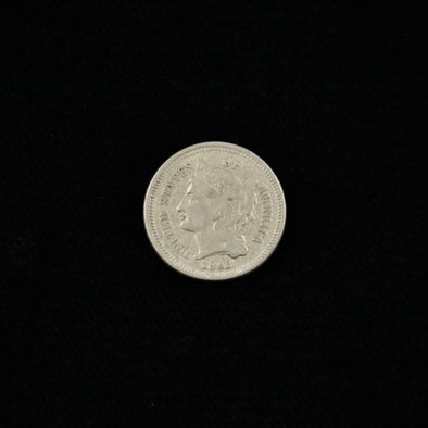 Copy of Copy of 1865 Three Cent Piece (Nickel) RPD
