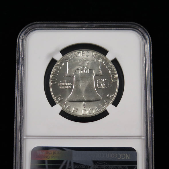 1959 D Franklin Half Dollar NGC MS64 Full Bell Lines