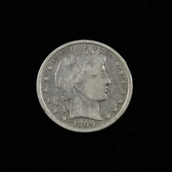 1899 Barber Head Half Dollar