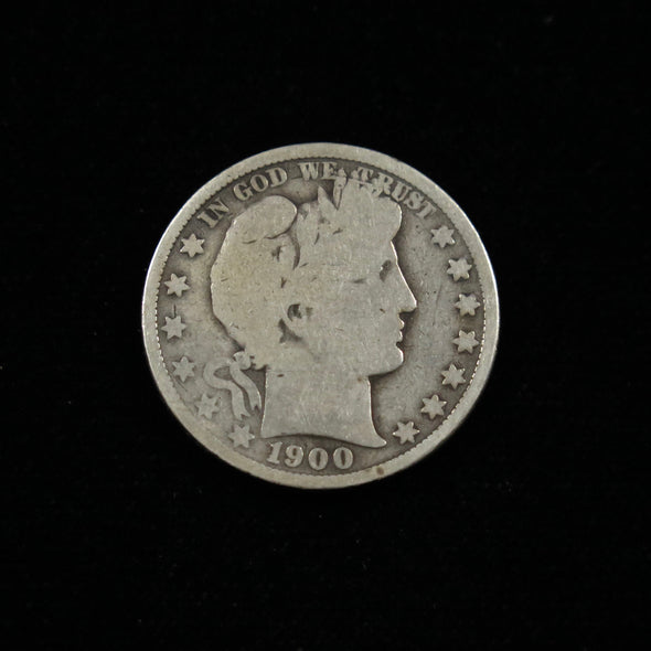 1900 O Barber Head Half Dollar