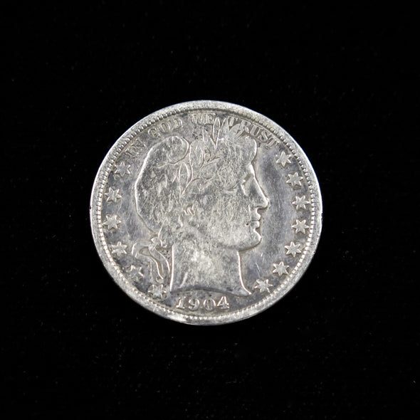 1904 Barber Head Half Dollar