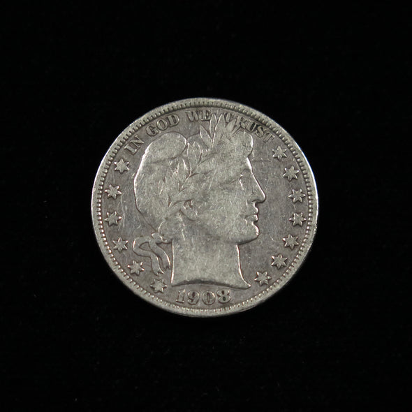 1908 O Barber Head Half Dollar