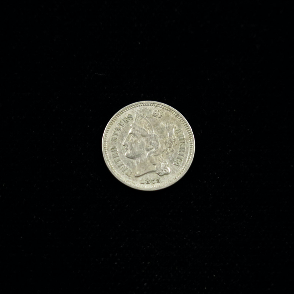 1875 Three Cent Piece (Nickel)