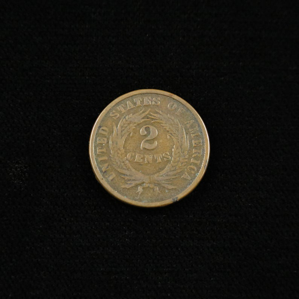 1865 Two Cent Piece Fancy 5