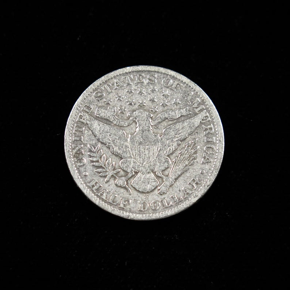 1903 S Barber Head Half Dollar