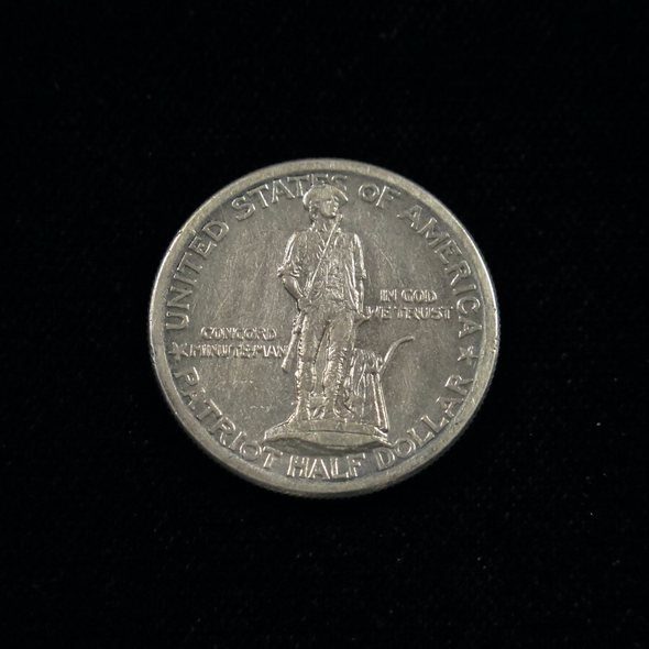 1925 Lexington-Concord Sesquicentennial Half Dollar Commemorative