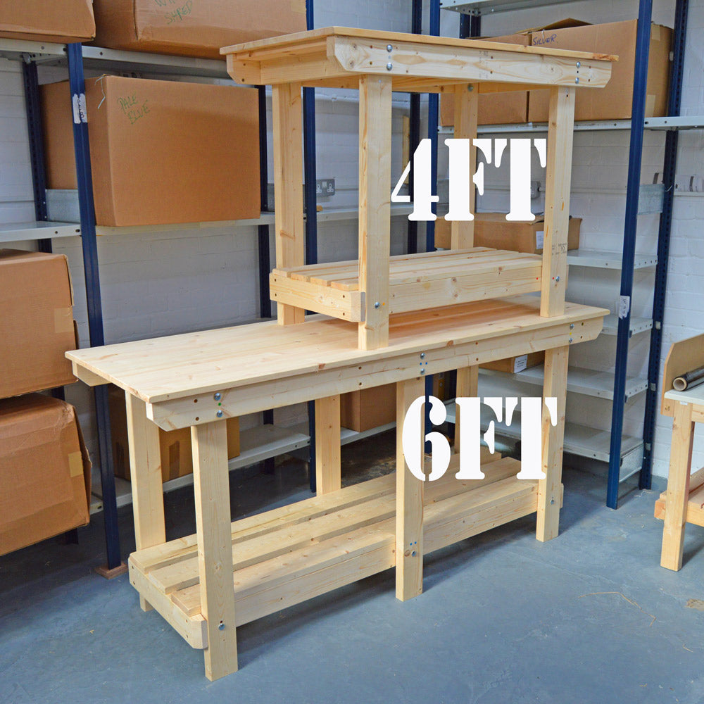 workbenches 6ft 4ft