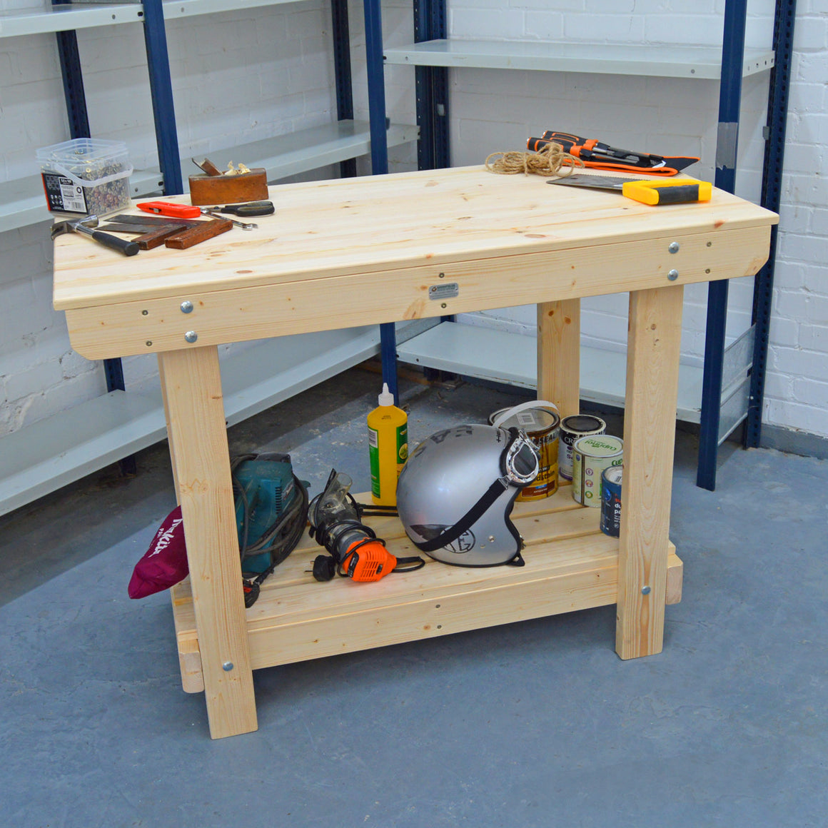 4FT wooden WORKBENCH