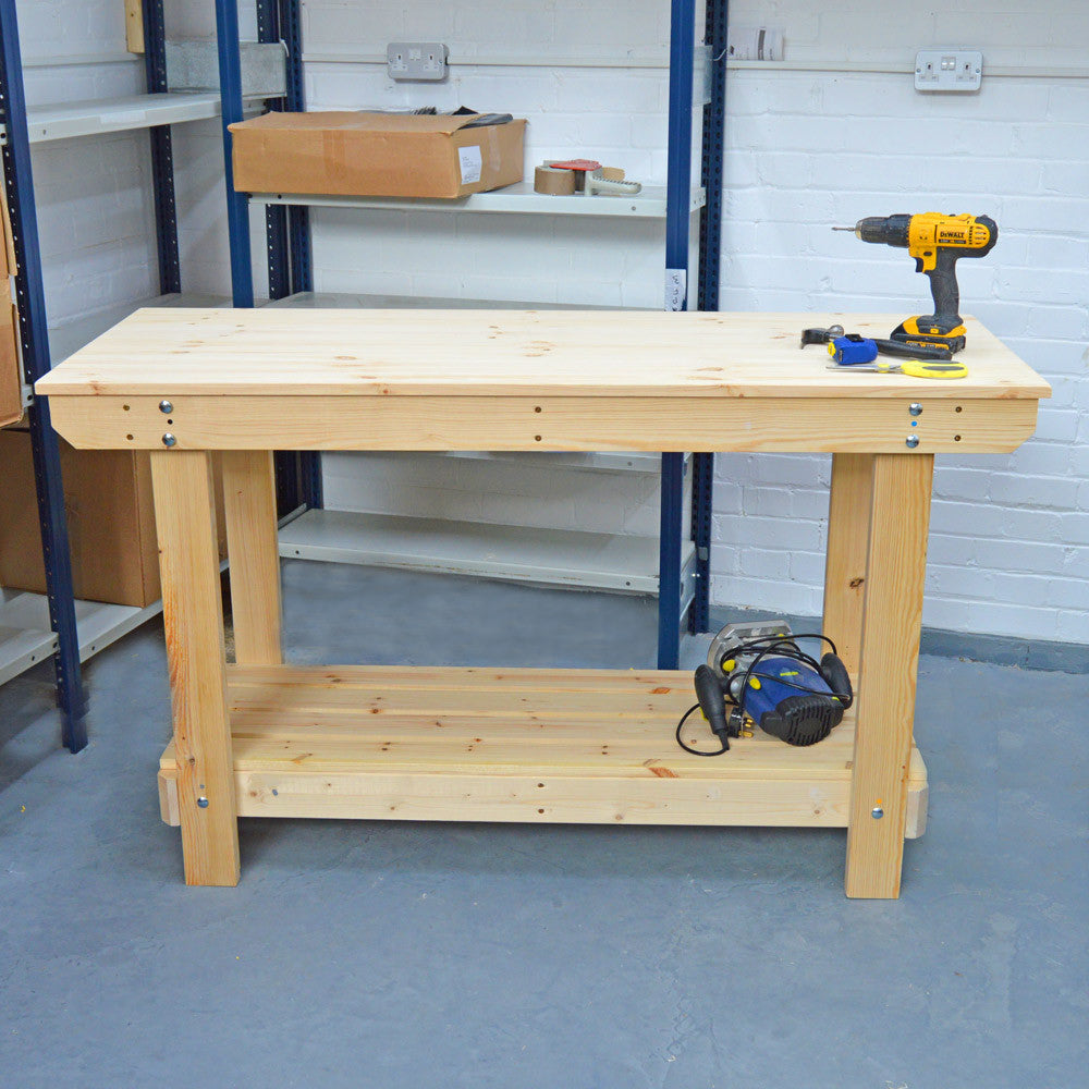 5ft Wooden Workbench