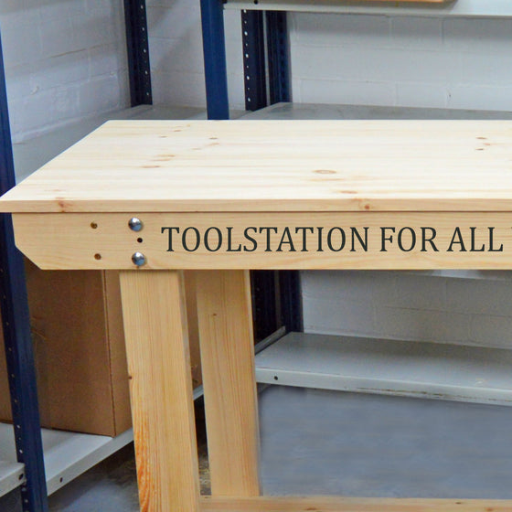 Personalise Your Workbench With Printed Text