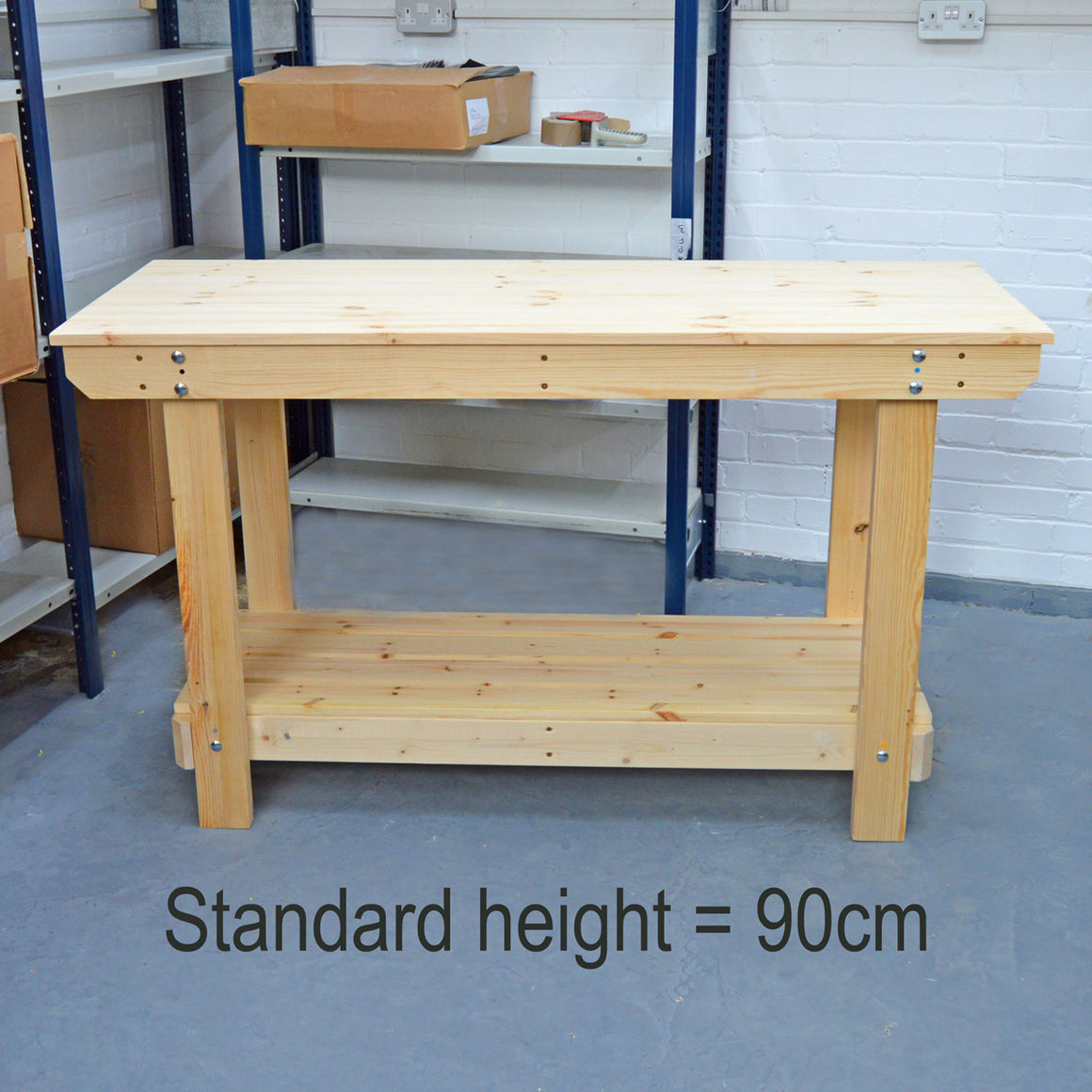 Change the Height of Your Workbench / Potting Table