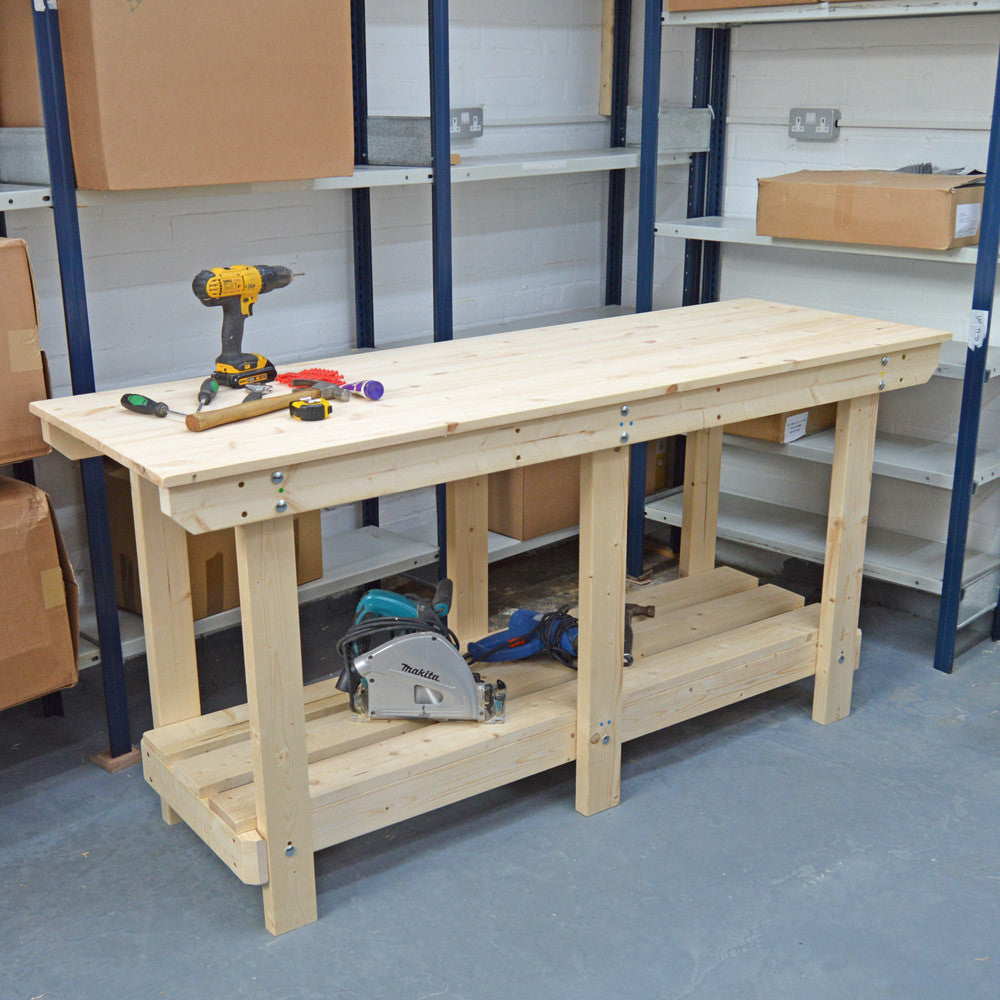 6ft Endurance Solid Pine Workbench - delivery within 35 miles of BH23 postcode image