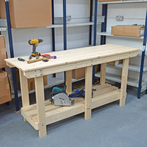 Heavy Duty Workbench 6ft Fully Constructed Uk Made