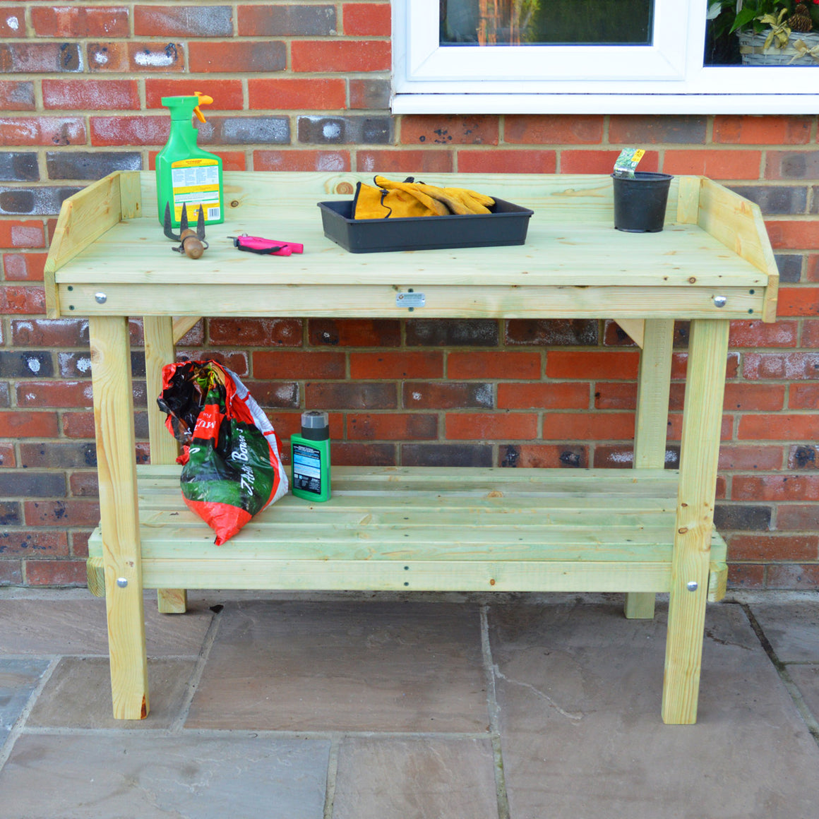 Potting Table - Forest Green (45cm Depth - Options on Width))