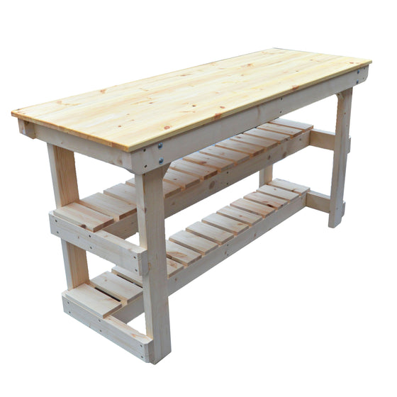 Half depth shelf options for Workbenches - no charge