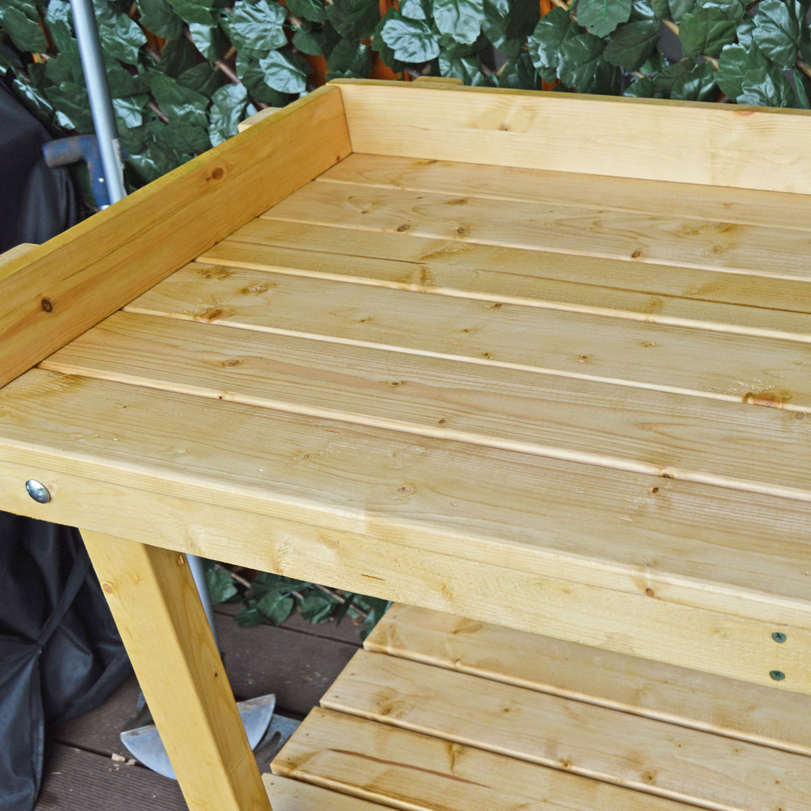 Potting Table - Colour Golden Brown (56cm Depth - Options on Width)