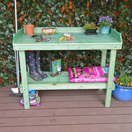 sturdy potting table for sale uk
