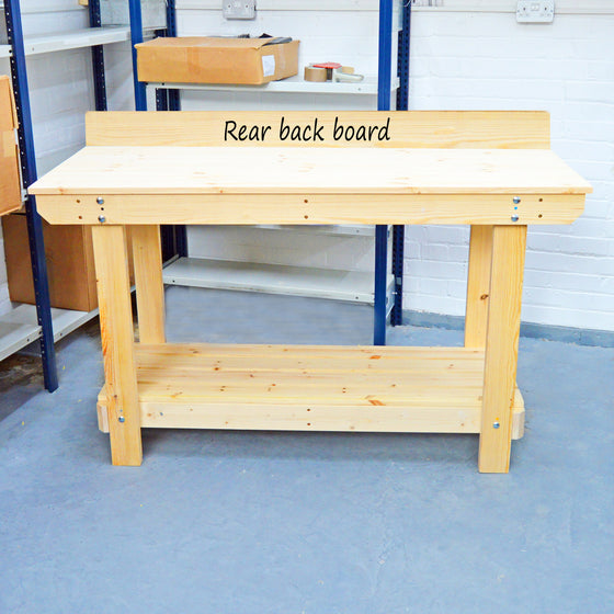 rear backboard for workbench