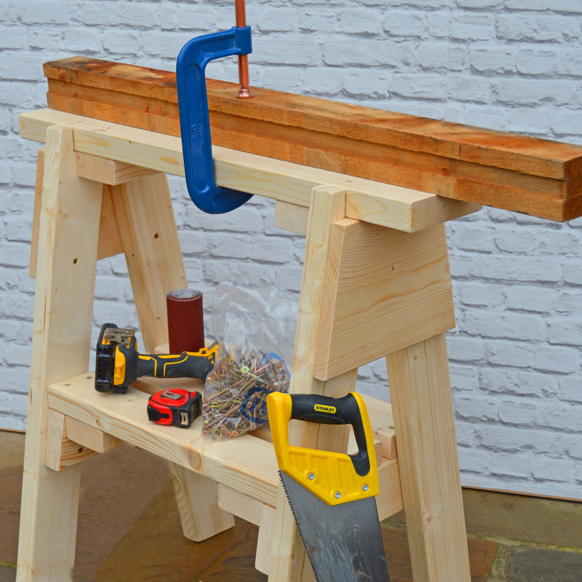 Wooden Sawhorse for sale