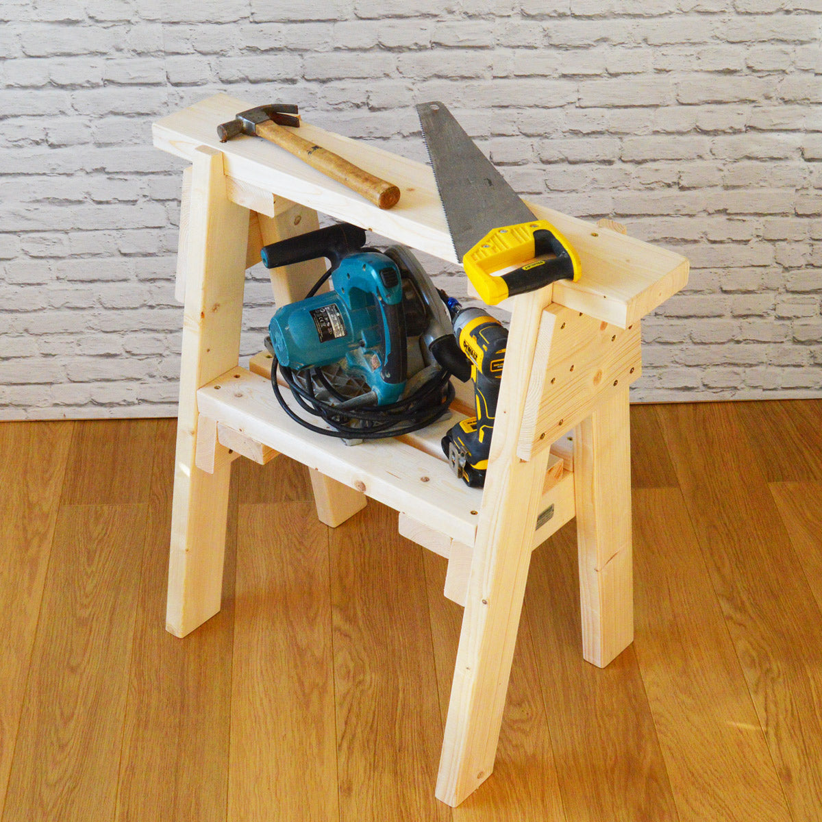 Wooden Saw Horse 1 X Single